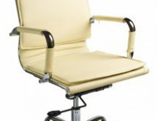 Кресло Бюрократ Ch-993 ivory