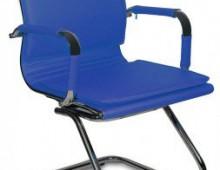 Кресло на полозьях Бюрократ CH-993-Low-V/blue