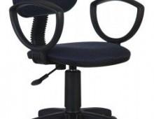 Кресло Бюрократ Ch-213AXN Bl&Blue черно-синий 12-191