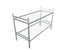 Кровать металлическая двухъярусная Арт.021 Эконом-класс