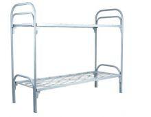 Кровать металлическая двухъярусная Арт.013