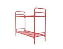 Кровать металлическая двухъярусная Арт.012