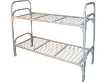 Кровать металлическая двухъярусная Арт.011