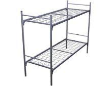 Кровать металлическая двухъярусная Арт.020