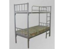 Кровать металлическая двухъярусная бытовая ПРЕСТИЖ Арт.004