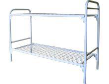Кровать металлическая двухъярусная Арт.019