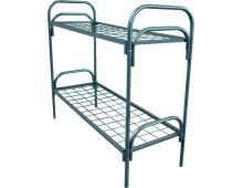 Кровать металлическая двухъярусная Арт.017