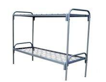 Кровать металлическая двухъярусная Арт.016
