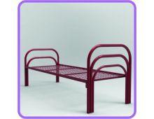 Кровать металлическая одноярусная усиленная Арт.007 для больницы