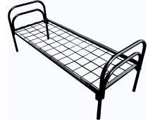 Кровать металлическая одноярусная Арт.026 Эконом-класс