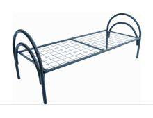 Кровать металлическая одноярусная усиленная Арт.023