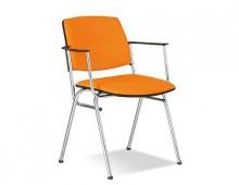 Офисный стул ISIT arm chrome