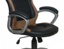 Кресло Бюрократ CH-825S/Black+Bg