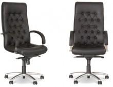 Кресло для руководителя FIDEL steel chrome