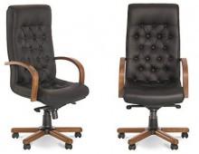 Кресло для руководителя FIDEL LUX steel chrome
